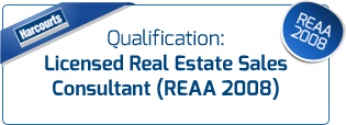 Qualification Licensed Real Estate Sales Consultant (REAA 2008)